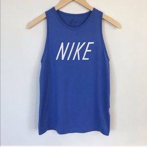 Nike Dry-Fit Tank Top Blue Size XS